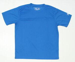 NEW New Balance Youth Mini Mesh Performance T-Shirt Tee Blue X-Large 02922
