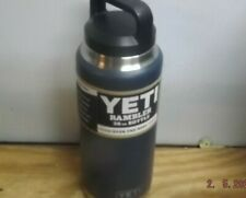 Rambler Vacuum Insulated Stainless Steel Bottle with Cap, Yeti 36 oz Navy