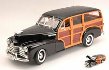 Chevrolet Fleetmaster 1948 Black / Woody 1:18 Model 9848 WELLY