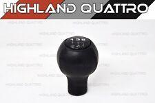 Audi quattro coupe GT gear stick black leather knob