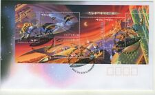 Australia 2000 Space Miniature Sheet Apm33310 First Day Cover
