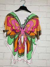 Miss Sixty Girls Butterfly Kimono T Shirt Top Elastic Waist Age 6 Years