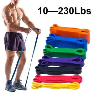Men Resistance Bands Pull Up Heavy Duty Assisted Exercise Gym Fitnes Loop Sport~