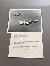 LOCKHEED TRISTARS IN FORMATION LARGE OFFICIAL PHOTO L-1011 TWA