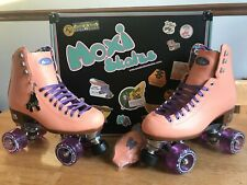 New! Moxi Beach Bunny roller skates size 7 Peach (not Lolly Impala Panther)
