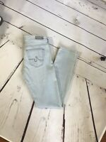 Anthropology AG Adriano Goldschmied the Stevie Ankle Slim Straight Leg Jean 25