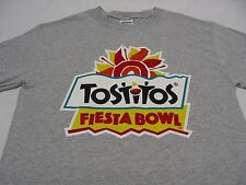 TOSTITOS FIESTA BOWL - GRAY - LARGE SIZE T SHIRT!