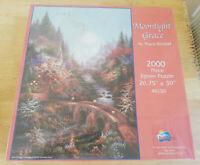 Moonlight Grace Jigsaw Puzzle Klaus Strubel Factory SunsOut 2000 Pieces
