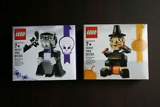 LEGO Seasonal Vampire And Bat 40203 & Pilgrim's Feast 40204 NEW Building Kit
