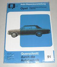 Repair Manual Opel Rekord a 1500/1700/1700 S, INCL. Caravan