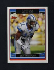 2006 Topps #177 Roy Williams WR - NM-MT