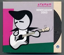 Official BENICASSIM FESTIVAL 2003 X4 CD. Inc. Suede, Blur, Placebo + many more