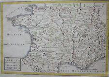 1796 GALLIA NARBONENSIS LUGDUNENSIS AQUITANIA original map Cellarius France