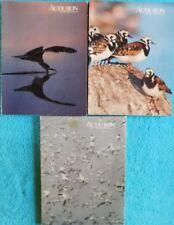 Lot of 3 Audubon Magazines 1980