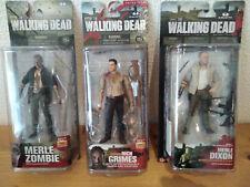 lot de 3 figurines Walking Dead McFarlane 100% NEW