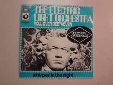 "ELECTRIC LIGHT ORCHESTRA: Roll Over Beethoven-Whisper In The Night-France 7"" PSL"