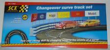 SCX 1/32 Slot Cars Scale Racing System Changeover Curve Track Set