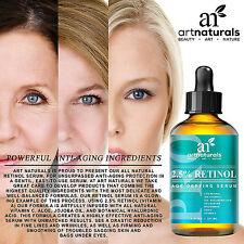 Anti Ageing Serum 30ml Hyaluronic Acid 2.5% Retinol 20% Vitamin C 100% NaturalS
