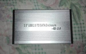 Case box Hard Disk 3.5 USB 2.0