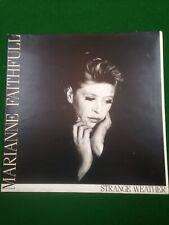 Marianne Faithfull Strange Weather Vinyl LP