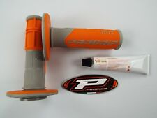 PRO GRIP 801 Naranja Empuñaduras Pegamento Motocross Enduro SX250 SFX250 SXF350
