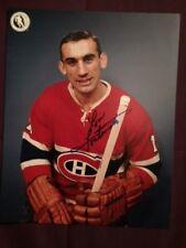Lou Fontinato Canadiens Autographed Signed Photo