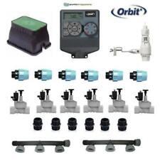 kit irrigazione Orbit 6 stazioni zone con centralina programmatore completo