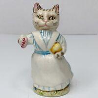 Vintage Beatrix Potter's Tabitha Twitchett Cat Beswick England Figurine F. Warne