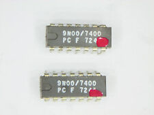 "F7400PC  ""Original"" Fairchild  14P DIP TTL  IC  2  pcs"