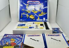 Vintage Meccano Erector Metal Construction Set #5 With Box 63 Models