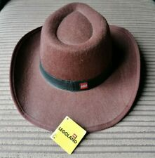 Legoland Lego Childs Kids Indiana Jones Stetson Fedora Brown Hat - New with tag