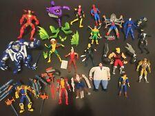 Vintage Marvel Uncanny X-Men Spiderman X-Force Original Action Figures 1990'S