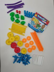 Tinkertoys Playskool Knex 65 Pieces