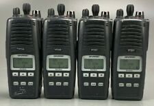 Lot of 4 Harris P7300 P-7300 Radio 7/800MHz w/ Multi Dock Charger MAPT-87HXX