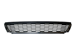 LOWER BUMPER GRILL GRILLE CHROME TRIM BAR FOR VW POLO MK5 5 V 6R 2009-