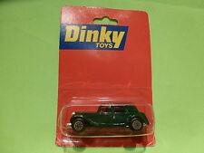 DINKY TOYS MATCHBOX 1:66 CITROEN 15 CV TRACTION - RARE SELTEN - UNOPENED BLISTER