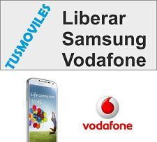 Liberar Samsung Vodafone Cualquier modelo prácticamente