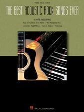 The Best Acoustic Rock Songs Ever Sheet Music Piano Vocal Guitar SongB 000310984