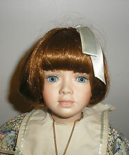 "Vintage Collectible Porcelain Doll ""Pamela"" by Jennifer Esteban  1993 20"""