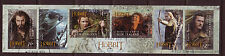 NEW ZEALAND 2013 THE HOBBIT SELF ADHESIVE STRIP OF 6  FINE USED