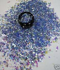 3ml Flakes Glitter in Acryl Dose, Dunkelblau, Nr. 807-001-a