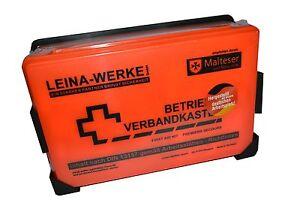 Betriebs Verbandskasten Erste Hilfe Koffer DIN 13157 Verbandkasten 2023