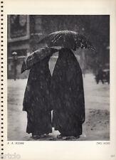 Héliogravure  - 1935 - two nuns - A.A.Bodine