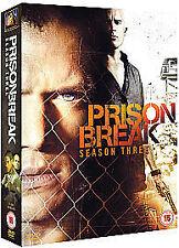 Prison Break - Series 3 - Complete (DVD, 2008, 4-Disc Set)