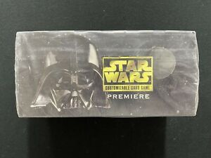 Star Wars CCG Premiere Limited Edition Starter Deck Box - Factory Sealed