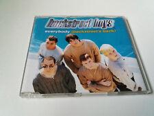 "BACKSTREET BOYS ""EVERYBODY (BACKSTREET'S BACK)"" CD SINGLE 5 TRACKS COMO NUEVO"