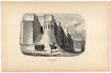 Tanger-Tandscha-Tangier-Marokko-Afrika Holzschnitt 1840
