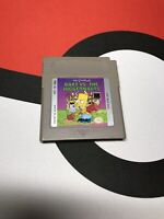 Simpsons: Bart vs. The Juggernauts (Nintendo Game Boy, 1992) USA Tested Works