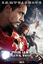 "Captain America - Civil War ( 11"" x 16.5"" ) Movie  Poster Print (T7) - B2G1F"