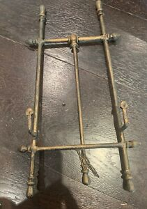 """Vintage Cast Iron  Display Easel Stand 16"""" x  9 1/2' X 8"""""""